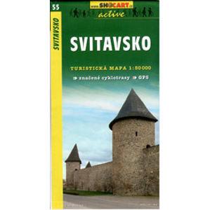 Svitavsko - mapa SHc55 - 1:50t