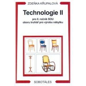 Technologie II pro 2.r. SOU oboru truhlář pro výrobu nábytku - Křupalová Zdeňka
