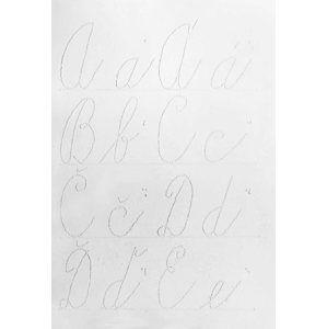 Interaktivní pomůcka pro ČJ - Abeceda psacích písmen