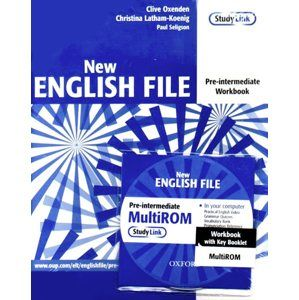 New English File pre-intermediate Workbook with key + CD - Oxenden,Latham-Koenig,Seligson