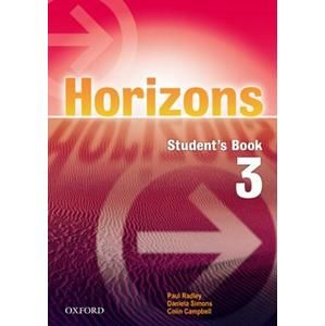 Horizons 3 Students Book with CD-ROM - Radley P., Simons D.