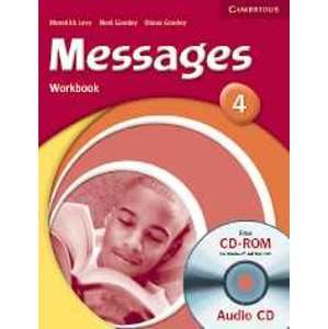 Messages 4 Workbook + audio CD / CD-ROM - Levy M.,Goodey N.,Goodey D.
