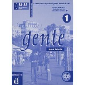 Gente 1 Libro de trabajo + audio CD Nueva edición - Peris E.M.,Gila P.M.,Baulenas N.S.