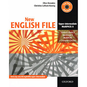 New English File Upper-intermediate Multipack A + CD-ROM - Oxenden C., Latham-Koenig Ch.