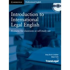 Introduction to International Legal English + audio CD - Krois-Lindner A., Firth M.