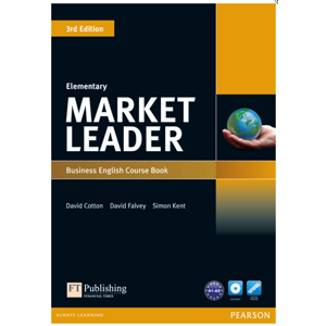 Market Leader 3. vydání Elementary Course Book + CD-ROM + audio CDs - Cotton D., Falvey D., Kent S.