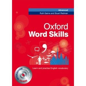 Oxford Word Skills Advanced - Student´s Pack ( Book + CD-ROM) - Gairns R., Redman S.