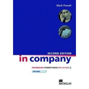 In Company Intermediate Students Book with CD-ROM Second Edition (učebnice) - Powell Mark