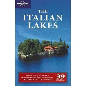The Italian Lakes - Lonely Planet Guide Book - 1th ed. /Itálie - jezera/