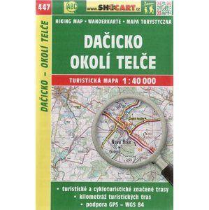 Pasázaví, Vlašimsko - mapa SHOCart č. 443 - 1:40 000
