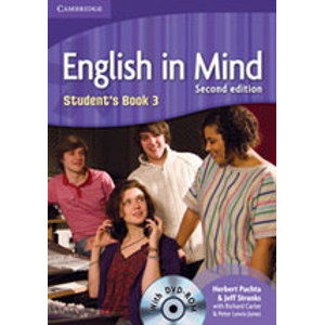 English in Mind 3 Students Book + DVD, 2. edice