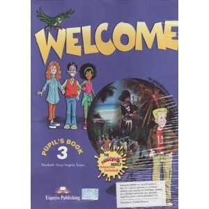 Welcome 3 - Pupils Books + audio CD