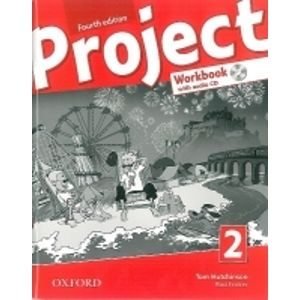 Project 2 - Fourth Edition - Pracovní sešit with Audio CD Pack (CZ) - Hutchinson T.