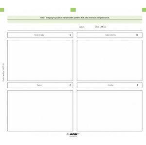 ADK Osobní SWOT analýza A5 (sada)
