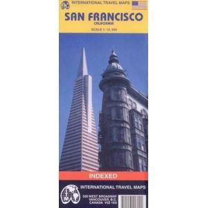San Francisco - plán ITM - 1:12 500 /USA/