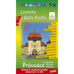 Lounsko, Dolní Poohří - průvodce Soukup-David č.58 /+volné vstupenky/ - Soukup V., David P.