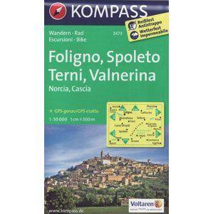 Foligno, Spoleto, Terni, Valnerina Kompass 2473