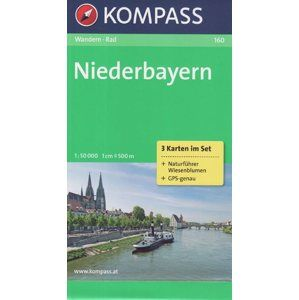 Niederbayern Kompass 160 set 3 map