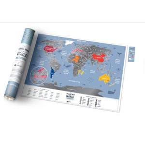 Stírací mapa světa - Weekend World