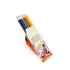 Trojhranné pastelky WE-TRI, 6 barev