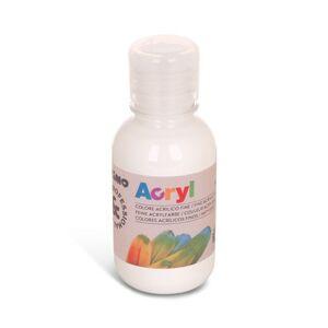 Akrylová barva PRIMO - 125 ml, bílá
