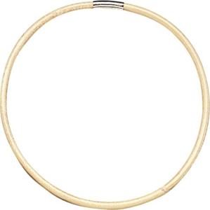 Ratanový kruh s kovovou svorkou, průměr 20 cm