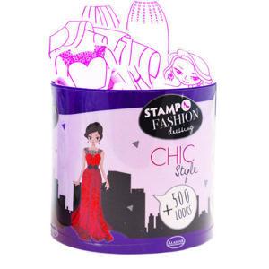 Razítka Aladine - převlékací panenky - City chic