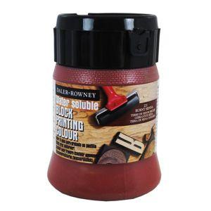 Daler-Rowney tiskařská barva 250 ml - hnědá