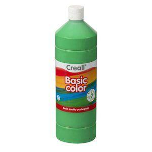 Temperová barva Creall - 1 L - zelená