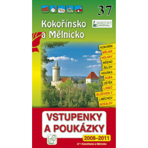Kokořínsko a Mělnicko - průvodce Soukup-David č.37 /+volné vstupenky/ - Soukup Vl., David P.