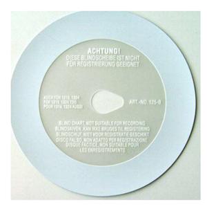 Tachokotoučky - Slepý plastový 123