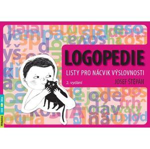 Logopedie – listy pro nácvik výslovnosti, 2. vydání - Josef Štěpán