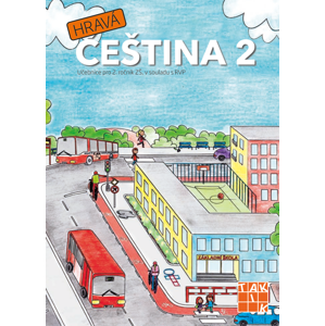Hravá čeština 2 – učebnice
