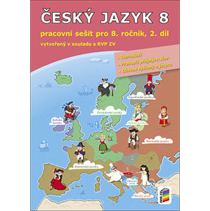 Český jazyk 8.r. ZŠ - pracovní sešit 2. díl