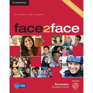 Face2face Elementary 2. edice Students Book + DVD -  Redston, Chris & Cunningham, Gillie