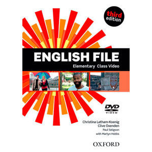English File Third Edition Elementary Class DVD - Latham-koenig, Ch. - Oxenden, C. - Selingson, P.