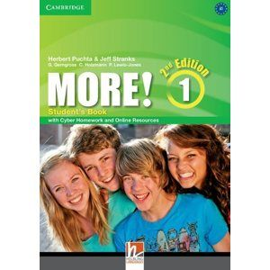 More! 1 Second Edition Student's Book with Cyber Homework - Herbert Puchta, Jeff Stranks, G. Gerngross, C. Holzmann, P. Lewis-Jones