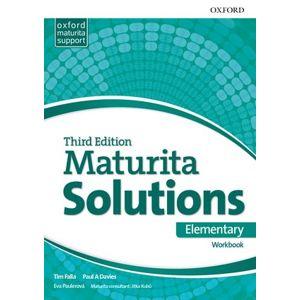 Maturita Solutions 3rd Edition Elementary Workbook (Czech Edition) - Falla Tim, Davies Paul A.