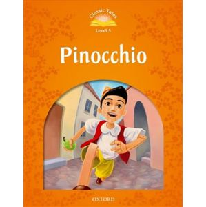 Classic Tales Second Edition Level 5 Pinocchio + Audio MP3 Pack - Arengo, Sue