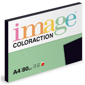 Coloraction A4 80 g 100 ks - Black/sytá černá