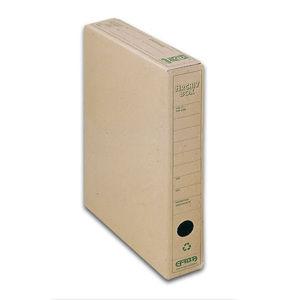 EMBA Archivační box vnitřní 33×26×5 cm - přírodní