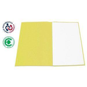 CAESAR OFFICE Odkládací mapa A4 bezklopá - žlutá