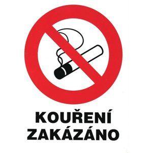 Zákaz kouření (označení restaurací) - 12x16 / plast