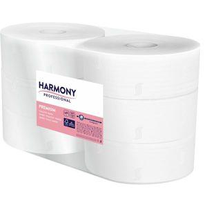 Toaletní papír Jumbo 280 Harmony Proefessional - 2 vrstvá celulóza ( 6 rolí )