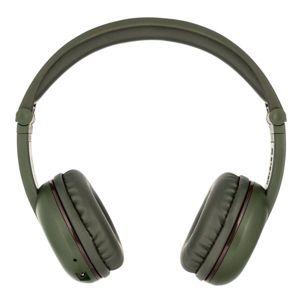 BuddyPhones Play - dětská bluetooth sluchátka s mikrofonem - zelená