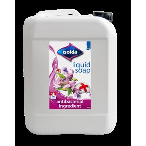 ISOLDA tekuté mýdlo - s antibakteriální přísadou 5l