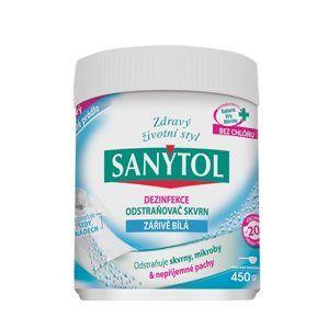 Sanytol dezinfekční odstraňovač skvrn - zářivě bílá