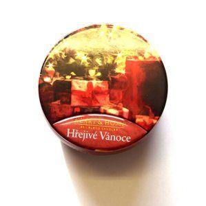 Albi svíčka v plechovce - Hřejivé Vánoce