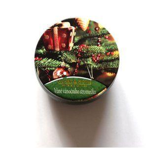 Albi svíčka v plechovce - Vůně vánočního stromečku