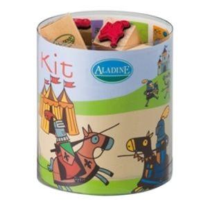 Dřevěná razítka Aladine - Rytíři